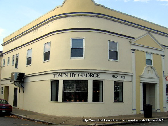 Toni's By George in Medford, Massachusetts