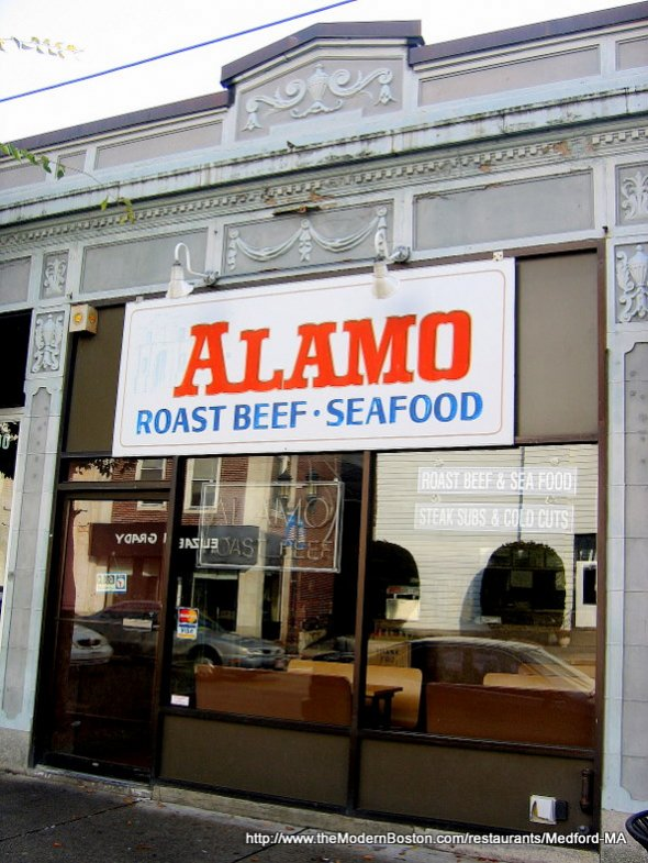 Alamo Roast Beef & Seafood in Medford, Massachusetts