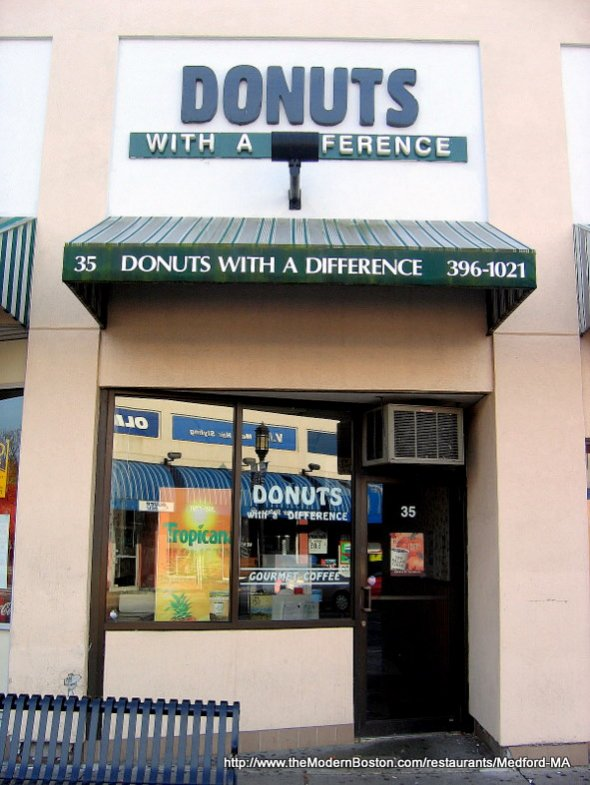 Donuts With A Difference in Medford, Massachusetts
